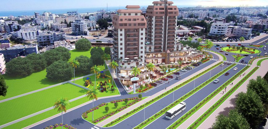1 Bedroom Apartment of 61m² in City Center of Famagusta
