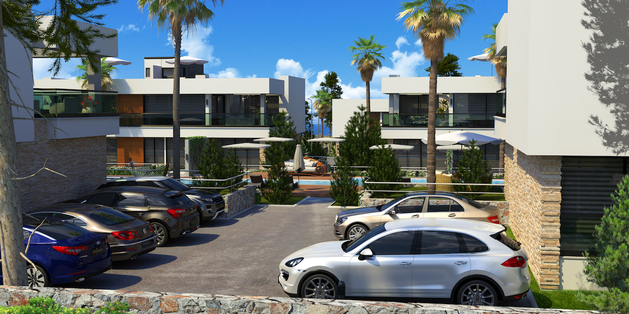 2 Bedroom Apartment of 168m² in Alsancak