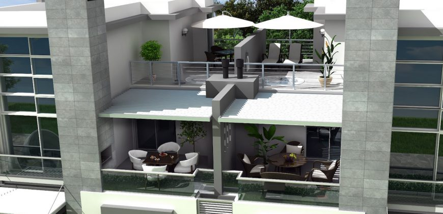 2 Bedroom Penthouse of 135m² in Karaoglanoglu