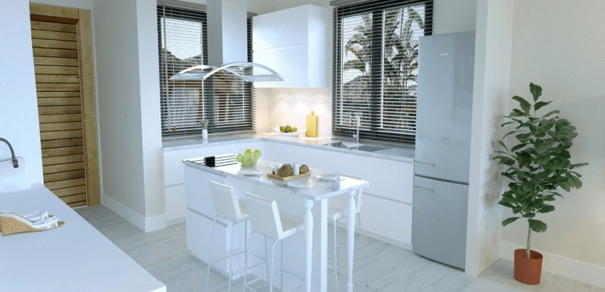 3 Bedroom Apartment of 118m² in Esentepe