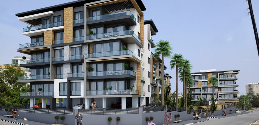 3 Bedroom Apartment of 105m² in City Center of Kyrenia