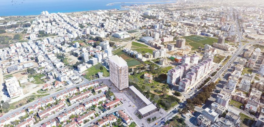 1 Bedroom Apartment of 57m² in City Center of Famagusta