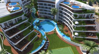 Luxury 2 Bedroom Apartment of 105m² in City Center of Kyrenia