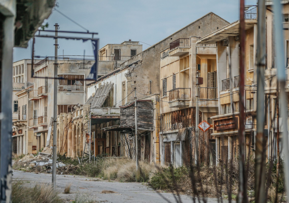 Ghost Town of North Cyprus