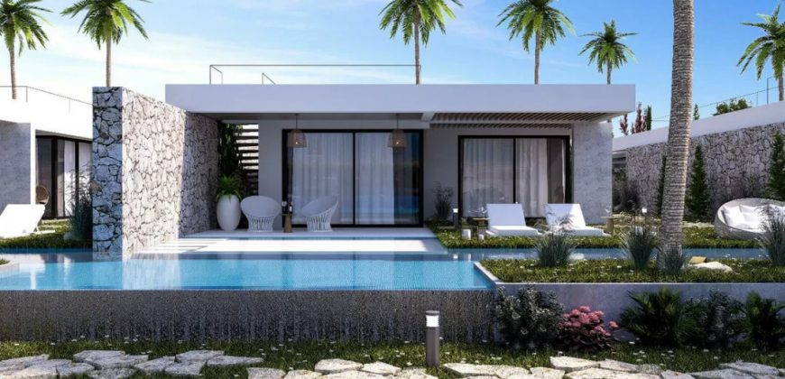 3 Bedroom Bungalow of 413m² on Plot of 650m² in Esentepe