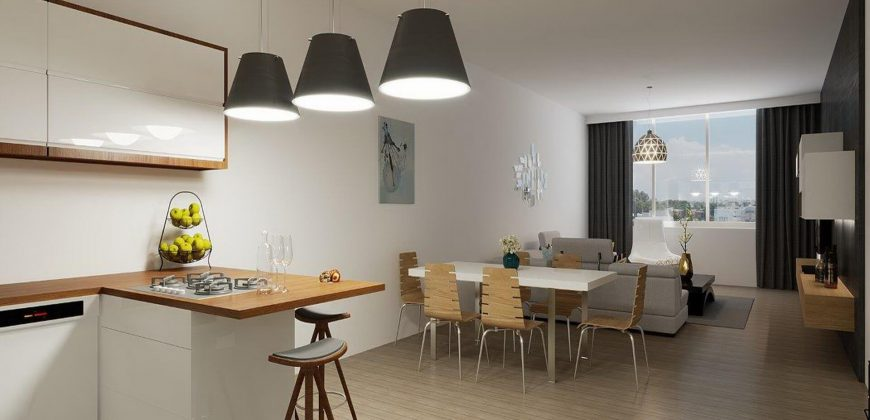 2 Bedroom Apartment of 96m² in City Center of Kyrenia