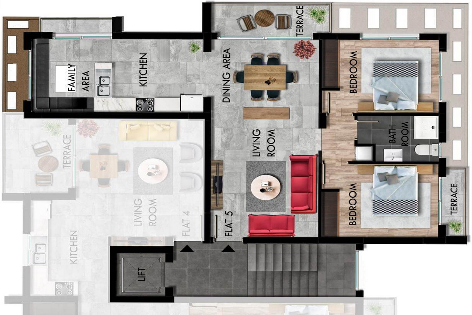 2 Bedroom Apartment of 100m² in Long Beach