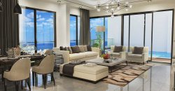 2 Bedroom Penthouse of 135m² + 35m² Terrace in City Center of Kyrenia