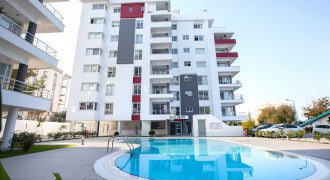3 Bedroom Penthouse of 140m² + 30m² Terrace in City Center of Kyrenia